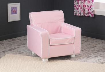 Pink Laguna Chair with Slip Cover