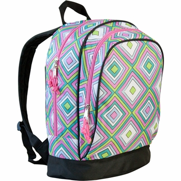Pink Pink Retro Kids Backpack