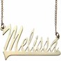 Polished Name Necklace - click to Enlarge