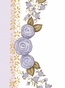 Posh Princess Crown Lovely Lavender Name Plaque Personalized by Dish and Spoon - click to Enlarge