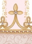 Posh Princess Crown Posey Pink Name Plaque Personalized by Dish and Spoon - click to Enlarge