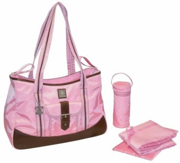 Power Pink - Weekender Diaper Bag by Kalencom
