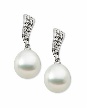 Pretty South Pearl Earrings