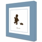Pull Toy Play Silhouette Art Personalized by Dish and Spoon - click to Enlarge