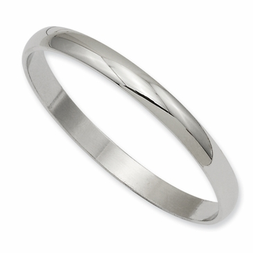 Pure Polished Baby Bangle