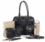 Rachel Black Diaper Bag by Timi & Leslie - click to Enlarge