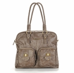 Rachel Taupe Diaper Bag by Timi & Leslie