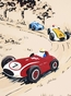 Rally Roadster IV Stretched Art by Dish and Spoon - click to Enlarge