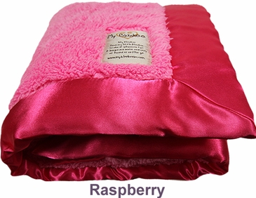 Raspberry Fuzzy Blanket by My Blankee
