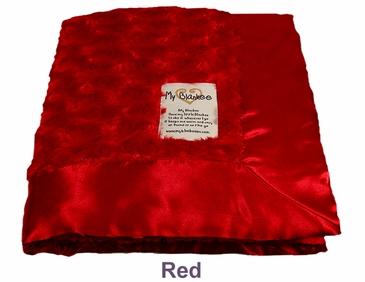 Red Snail Blanket by My Blankee