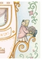 Regal Princess Coach Posey Pink Wall Hanging Personalized by Dish and Spoon - click to Enlarge