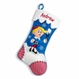 Reindeer and Snowman Christmas Stockings - Clarice - click to Enlarge