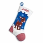 Reindeer and Snowman Christmas Stockings - Snow Monster - click to Enlarge