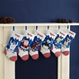 Reindeer and Snowman Christmas Stockings - Personalized - click to Enlarge