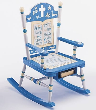 Rock of Ages Bible Rocking Chair