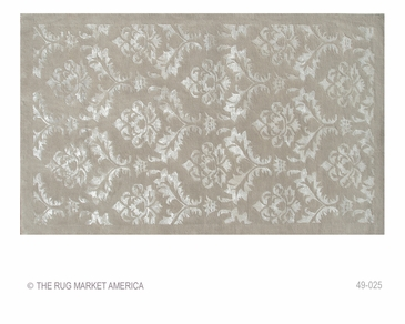 Rococo Beige Tufted Rug