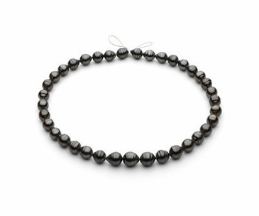 Round Pearl Strand- Grey