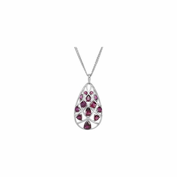 Royal Brazilian Garnet Pendant