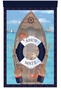 S.S. Maritime Wall Hanging Personalized by Dish and Spoon - click to Enlarge