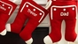Santa Long John Christmas Stocking - click to Enlarge