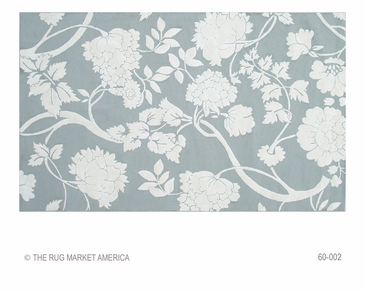 Sara Grey/White Hook Rug