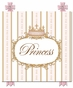 Se Faire Belle Crown Posey Pink Name Plaque Personalized by Dish and Spoon - click to Enlarge