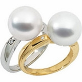South Sea Cultured Pearl Rings