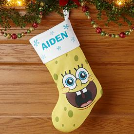SpongeBob Christmas Stocking - Personalized