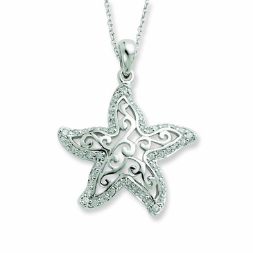 Star and Sea Necklace
