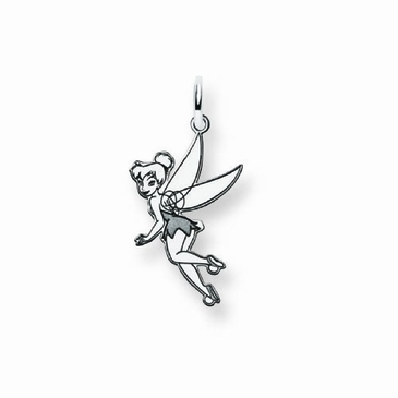 Sterling Silver Disney Small Tinker Bell Charm