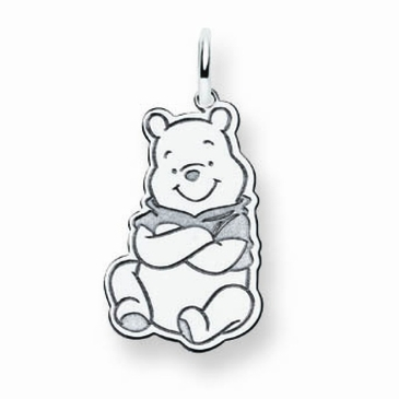 Sterling Silver Disney Small Winnie the Pooh Charm