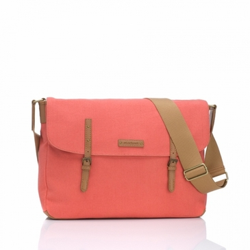 Storksak Ashley Coral Diaper Bag
