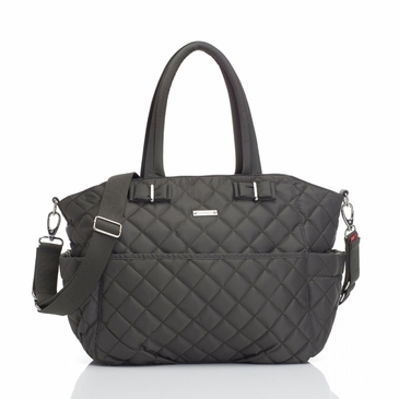 Storksak Bobby Charcoal Diaper Bag