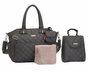 Storksak Bobby Charcoal Diaper Bag - click to Enlarge