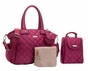 Storksak Bobby Magenta Diaper Bag - click to Enlarge