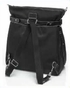 Storksak Claire Nylon Backpack Diaper Bag - Black - click to Enlarge