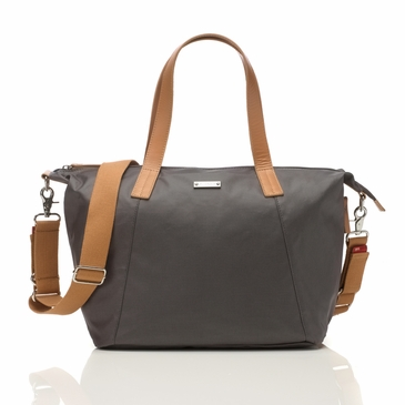 Storksak Noa Diaper Bag in Grey