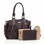 Storksak Olivia Mulberry Diaper Bag - click to Enlarge