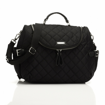 Storksak Poppy Black Diaper Bag