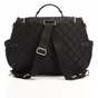 Storksak Poppy Black Diaper Bag - click to Enlarge