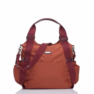 Storksak Tania Bee Burnt Orange Diaper Bag
