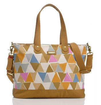 Storksak Tote Triangle Nylon Diaper Bag
