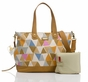 Storksak Tote Triangle Nylon Diaper Bag - click to Enlarge