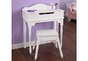 Sweetheart Vanity & Stool - click to Enlarge