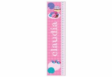 Sweets Growth Chart Personalized