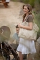 The Charlie II Tote Diaper Bag by Timi & Leslie - Pewter - click to Enlarge