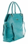 The Charlie II Tote Diaper Bag by Timi & Leslie - Teal - click to Enlarge