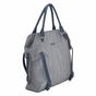 The Charlie Tote Diaper Bag by Timi & Leslie - Gray/Navy - click to Enlarge