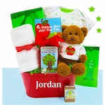 """The Giving Tree"" Baby Gift Basket"
