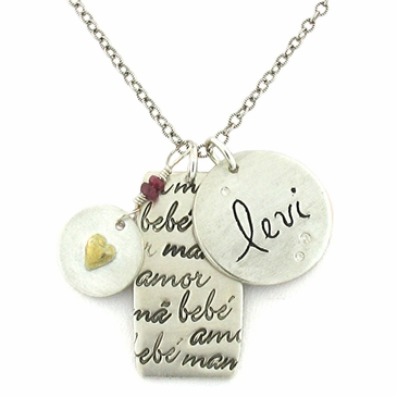 The Mama, Bebe, Amor Necklace